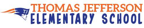 Thomas Jefferson Elementary School logo centered